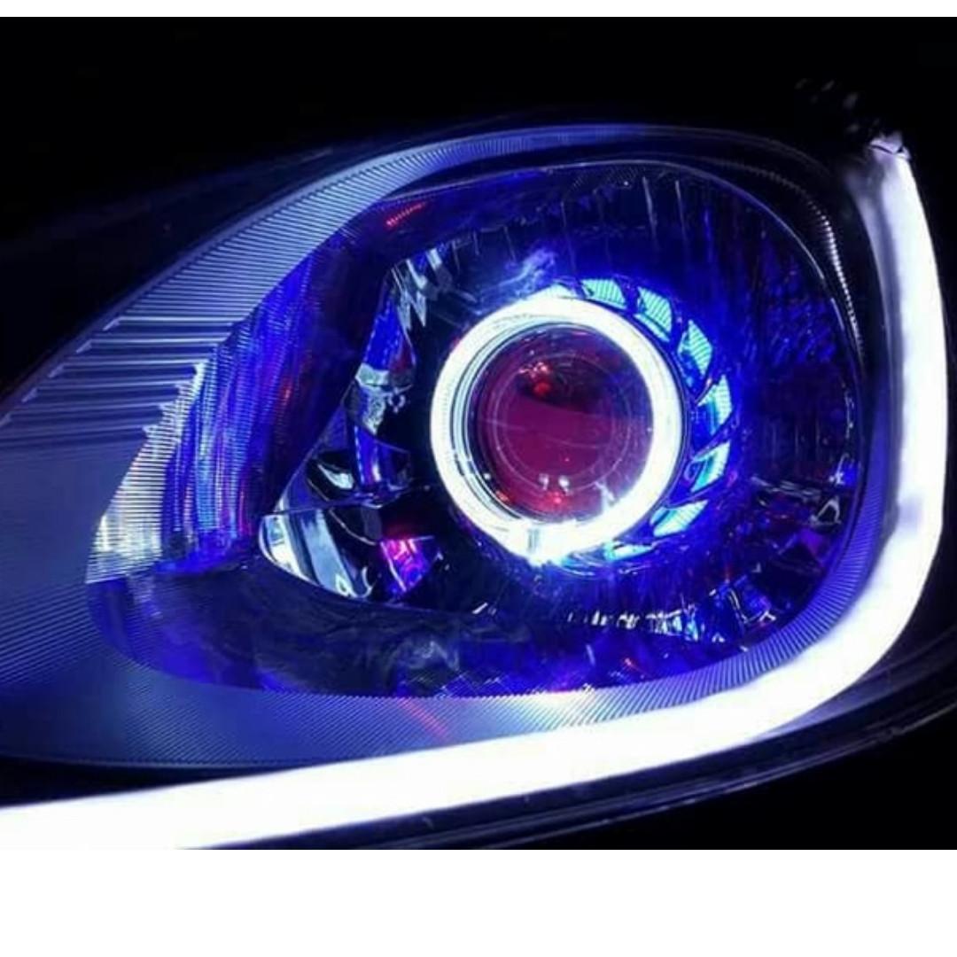 Modifikasi Lampu Depan Mobil Sedan | Sobotomotif