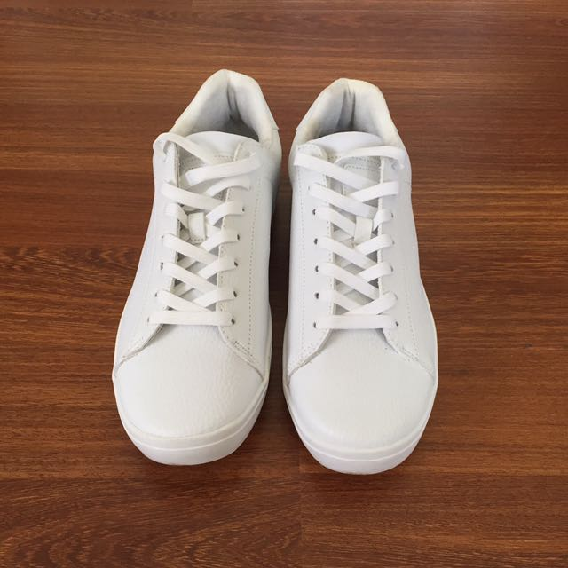 All White Shoes