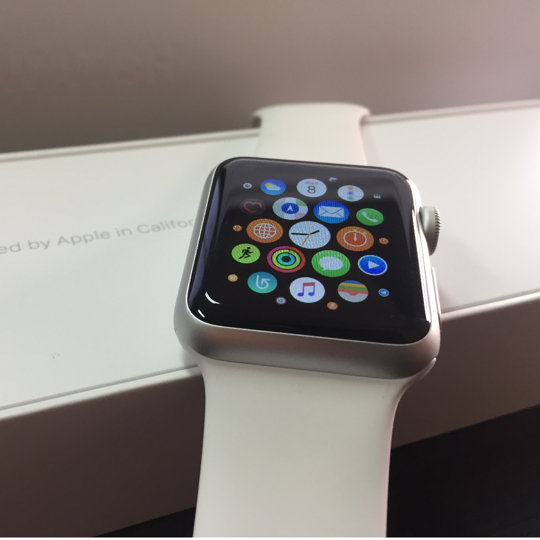 Apple Watch 38mm 2nd Gen Series 1 Silver