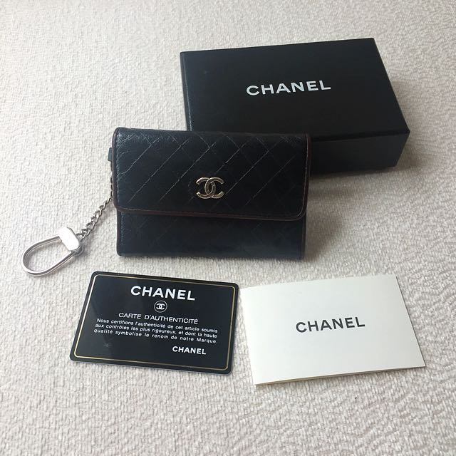 AUTHENTIC CHANEL Card Holder