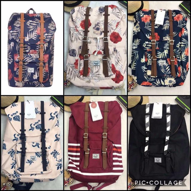 Authentic Herschel Bags! Limited stocks ‼️‼️