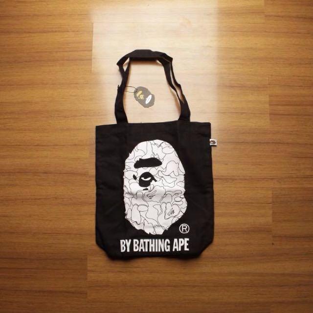 BAPE Totebag A Bathing Ape Logo Premium