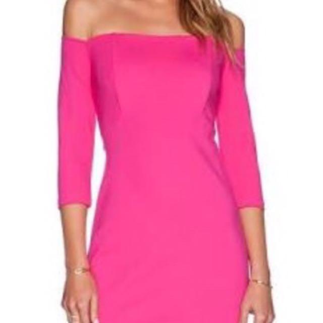 Bardot pink dress size 10