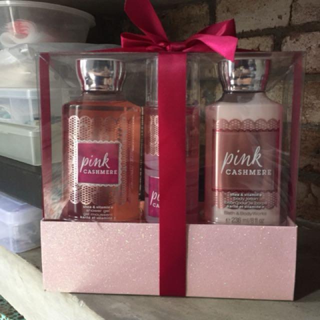 Bath & Body Works Pink Cashmere