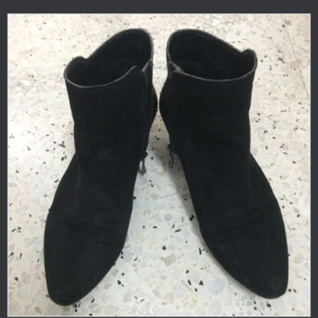 BCBG Generation suede ankle boot