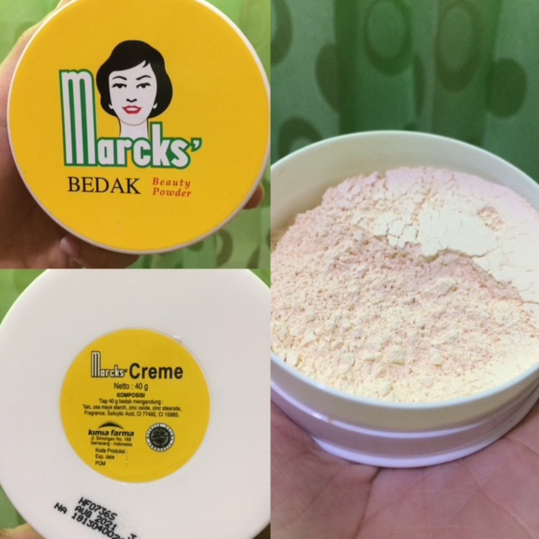 bedak marck (cream)