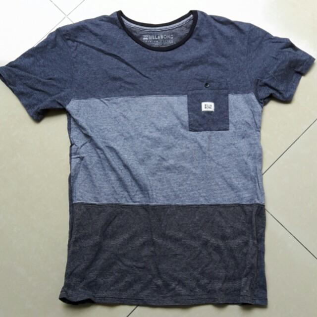 Billabong Striped T-Shirt
