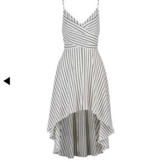Black & White Stripe Maxi