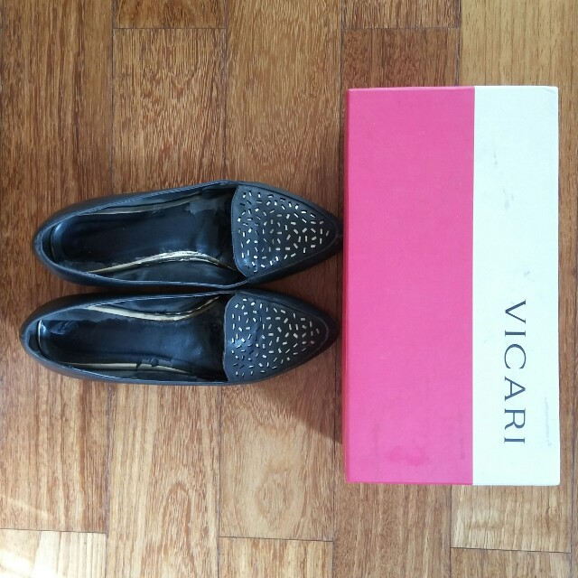 Black Shoes Vicari