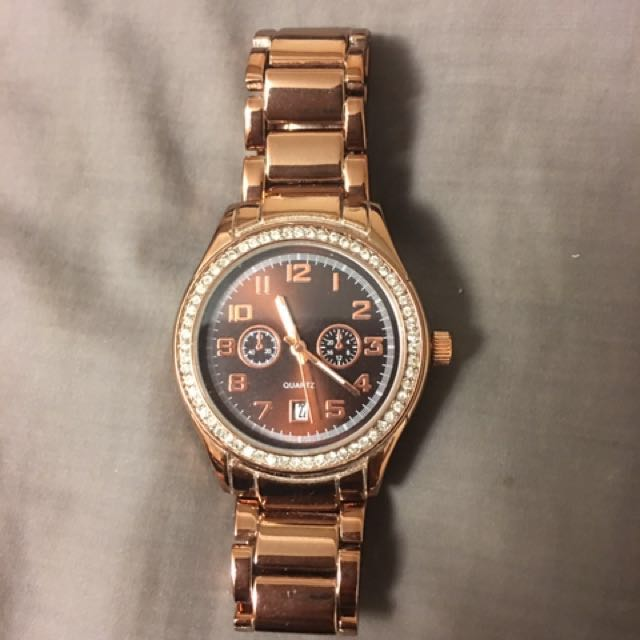 BNWOT Rose Gold Watch
