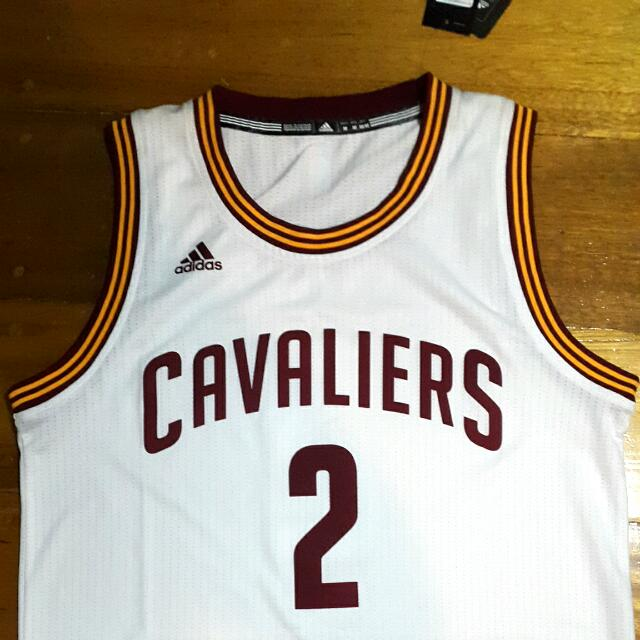BNWT Orig Adidas Swingman NBA jersey Kyrie Irving / Collector's Item / New with Tag, Adidas paperbag and plastic