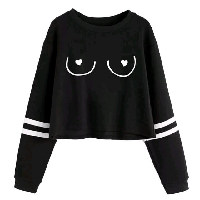Boob sweatshirt