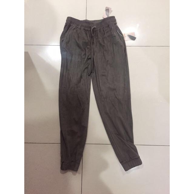 Brand New Forever 21 Silk Jogger Pants