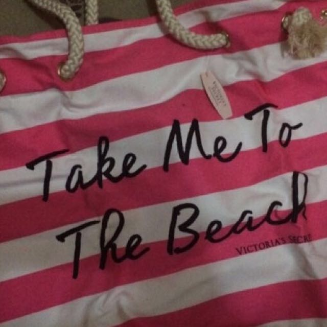 Brand New VS Large BEACH/Tote bag