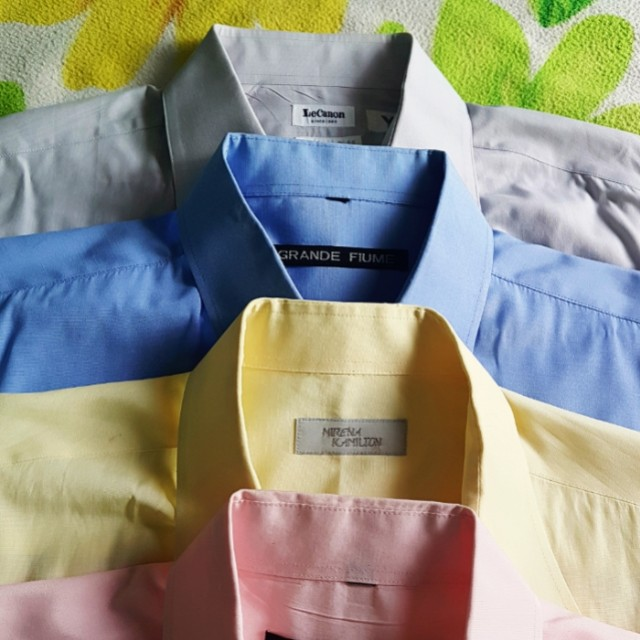 Buy 3 get 1 free..Assorted longsleeves polo