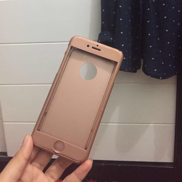 Case full 360 Iphone 6/6s ROSE GOLD