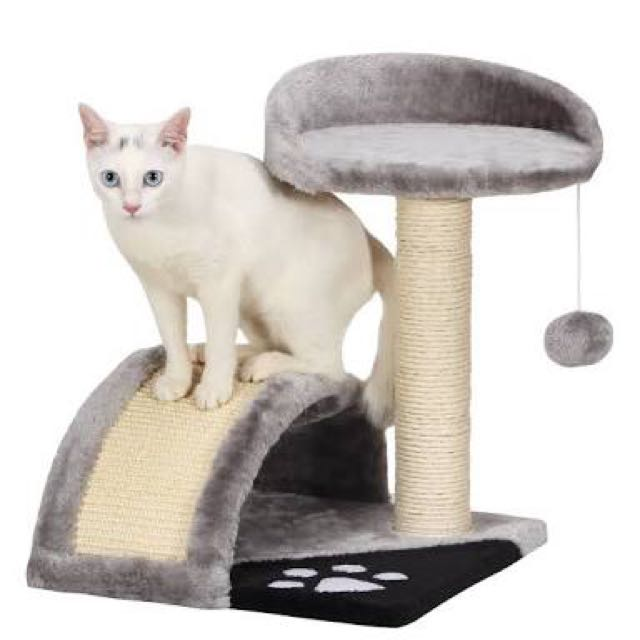 Cat Scratcher and Tree