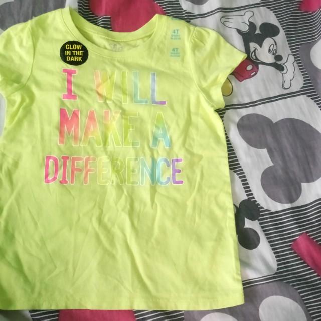 Children's place short sleeve blouse