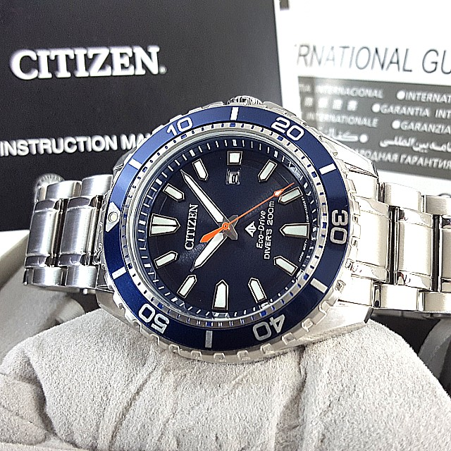 Citizen Eco Drive Divers 200m Luxury Watches On Carousell