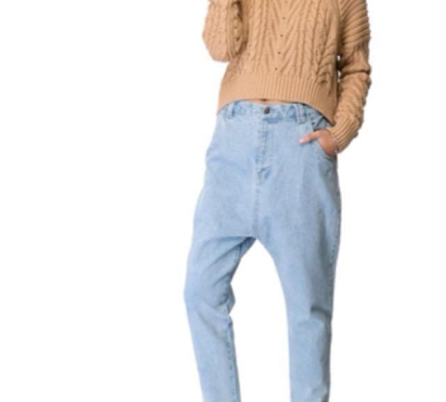 C/MEO Collective - drop crutch denim jeans