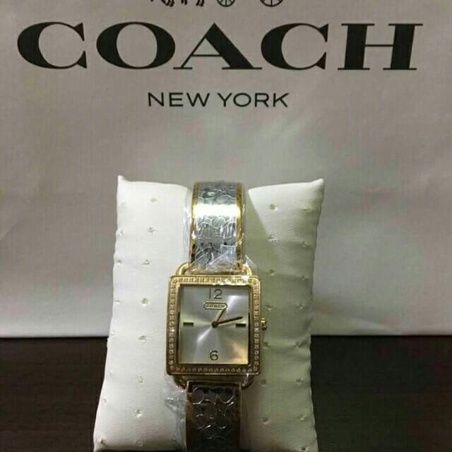 Coach ladies watch
