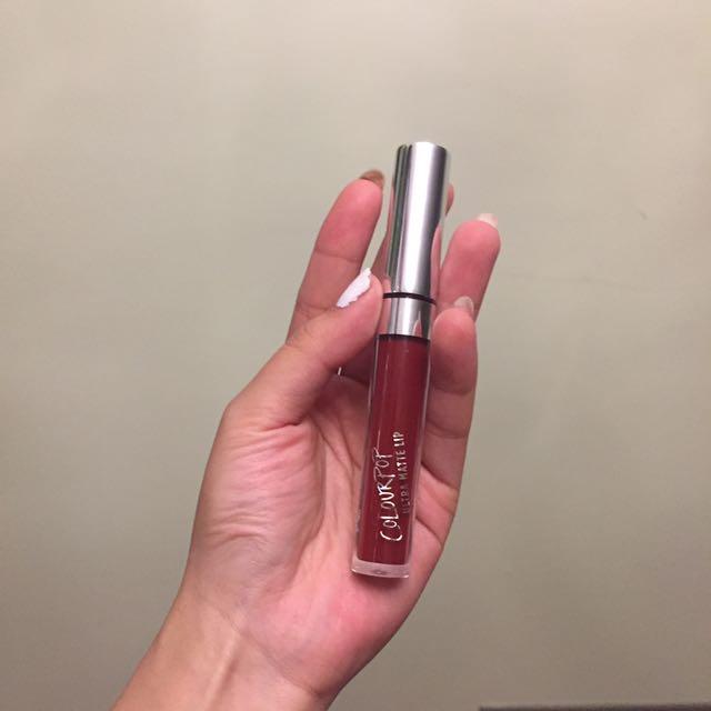 COLOURPOP UltraMatte Liquid Lipstick - Avenue