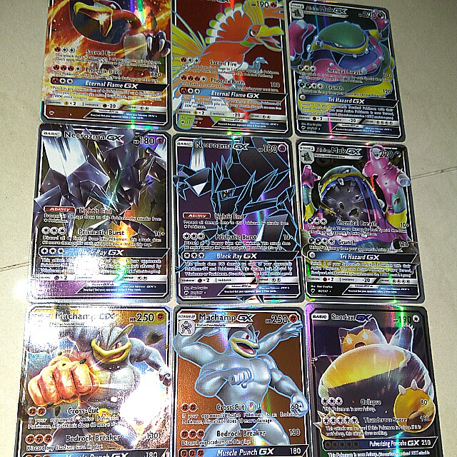 $7 For All Fake Pokemon GX Holo Cards, Toys & Games, Board