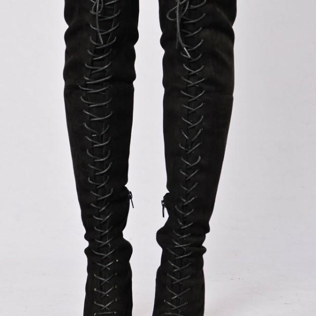 "Fashion nova's ""love me ling time"" Boots"