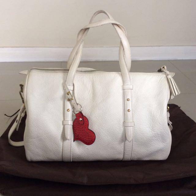 Fino Leatherware Boston Bag