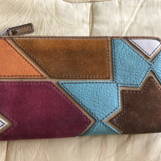 Fossil Tricolor Wallet
