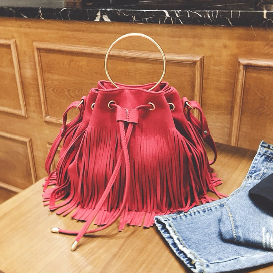 Fringed Bucket