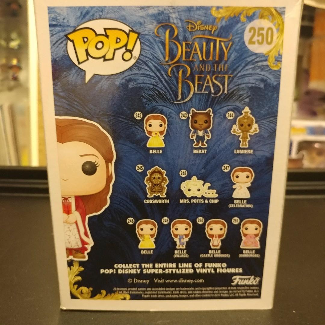 Disney #250 Figur Funko Belle Castle Grounds Beauty And The Beast Movie POP