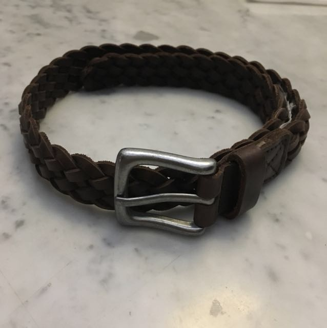 GAP boys leather brown belt