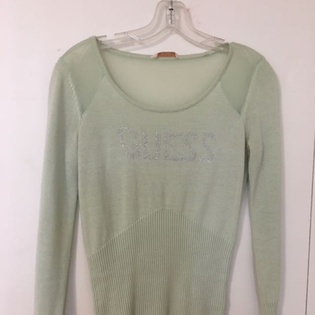 Guess Green Long Sleeve