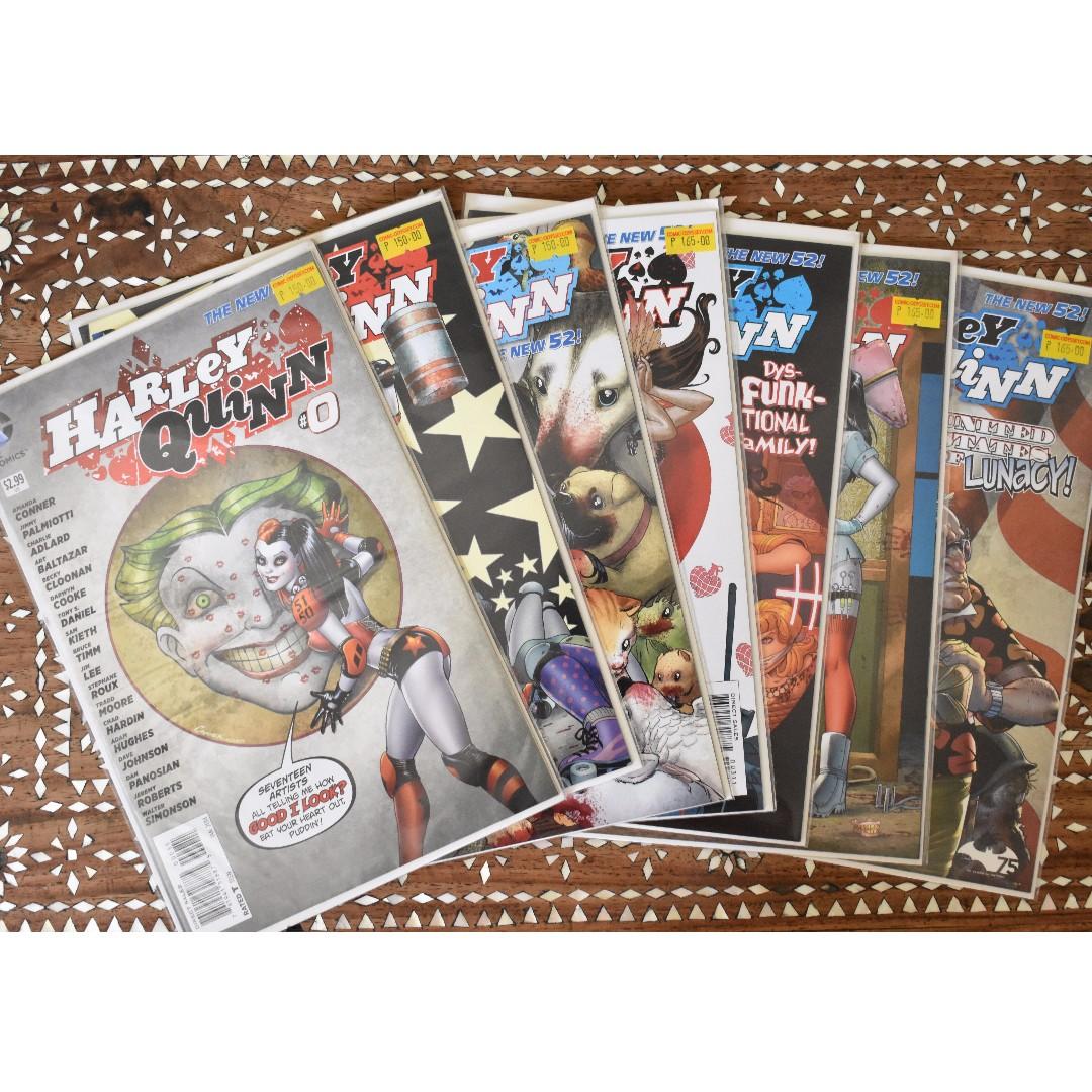 Harley Quinn New 52 #0-6