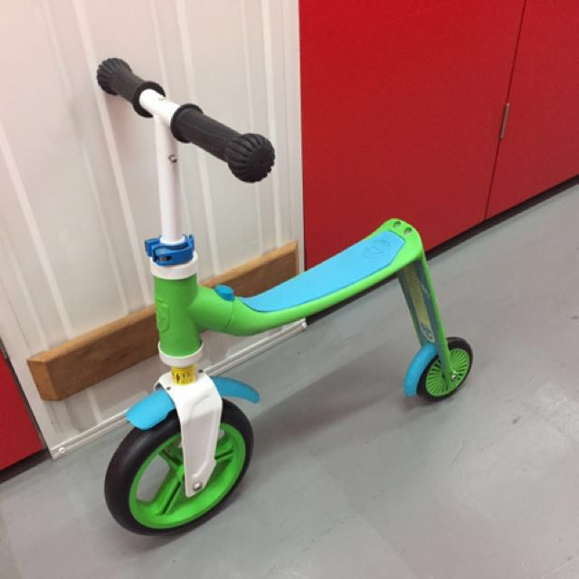 Highwaybaby 2-in-1 ScooterBike from Austria