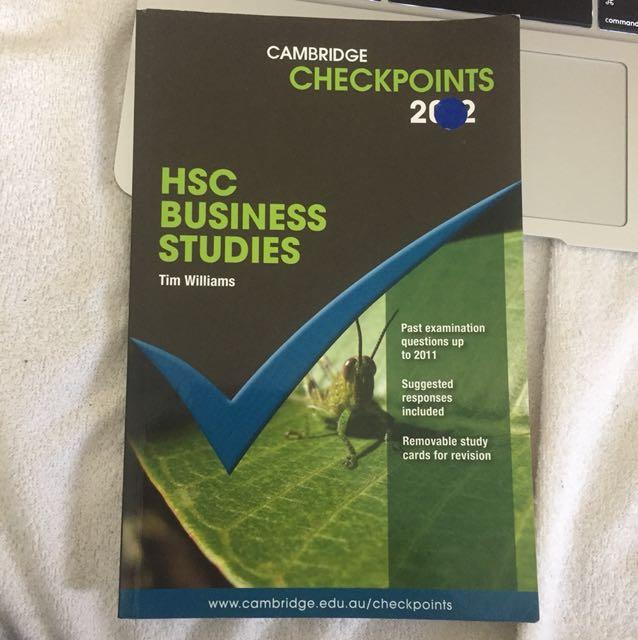 HSC Business Studies