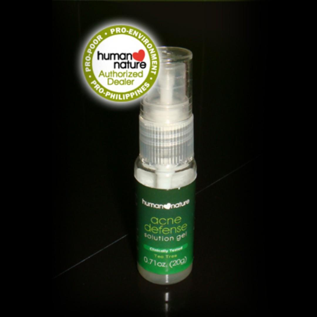 Human Nature Acne Defense Gel