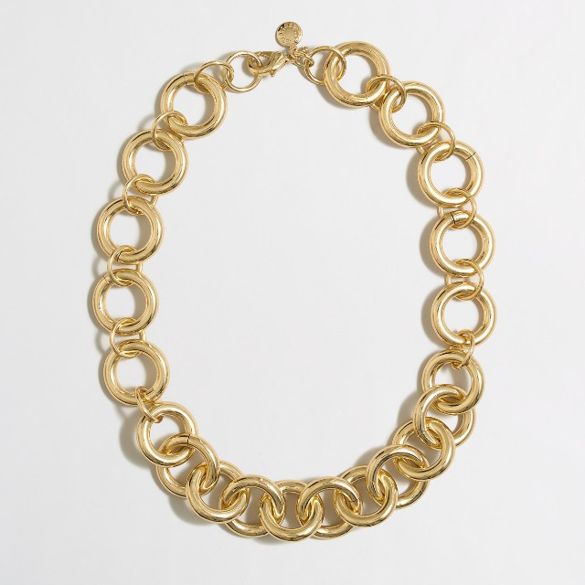 J.Crew Gold Plated Necklace