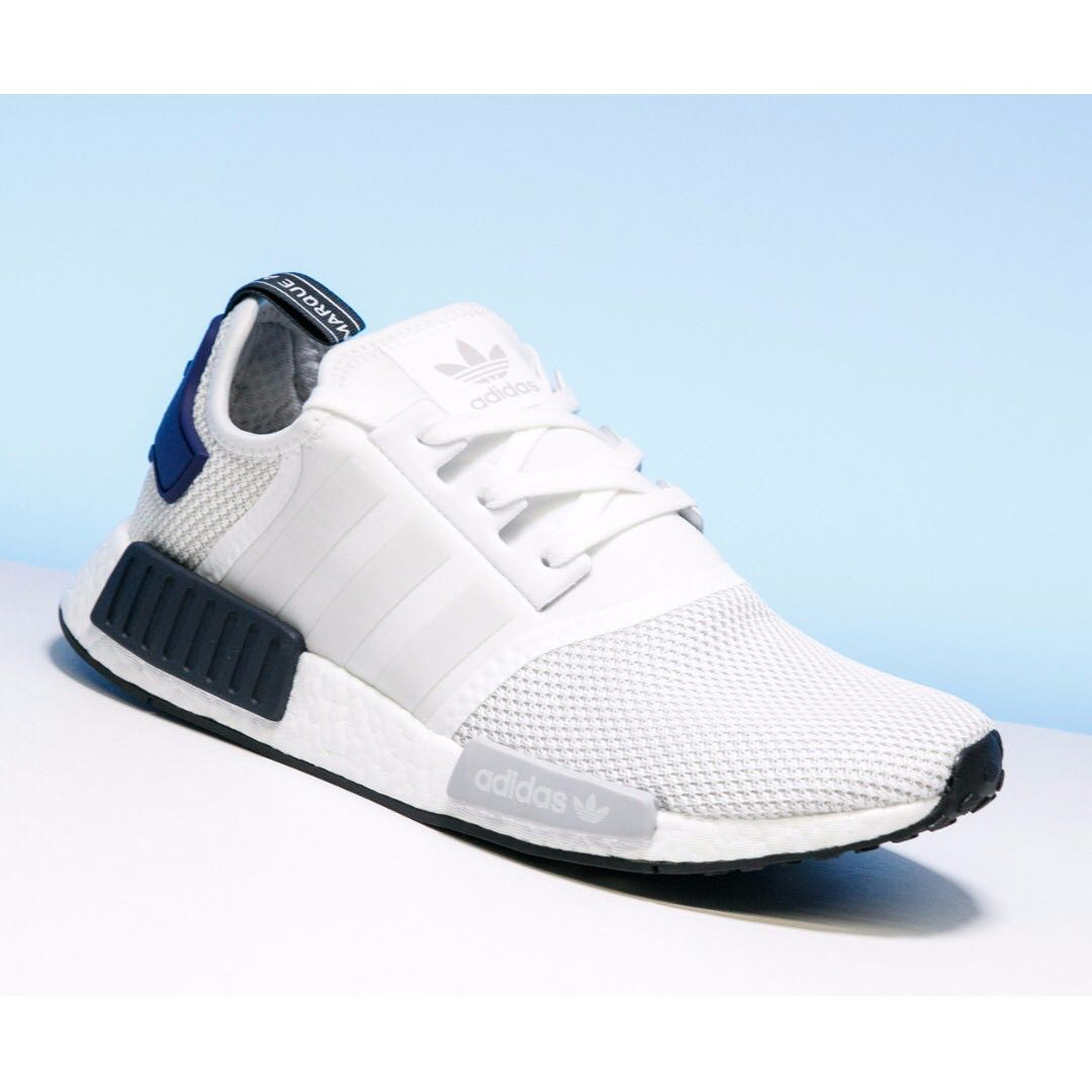 07a194cd4 JD Sports White Blue Exclusive adidas Originals NMD