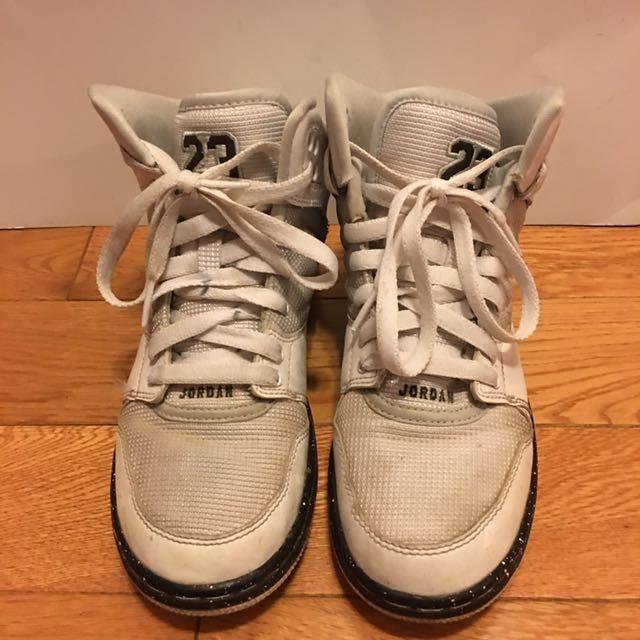 Jordan running shoes  grade school kid size 4.5 y