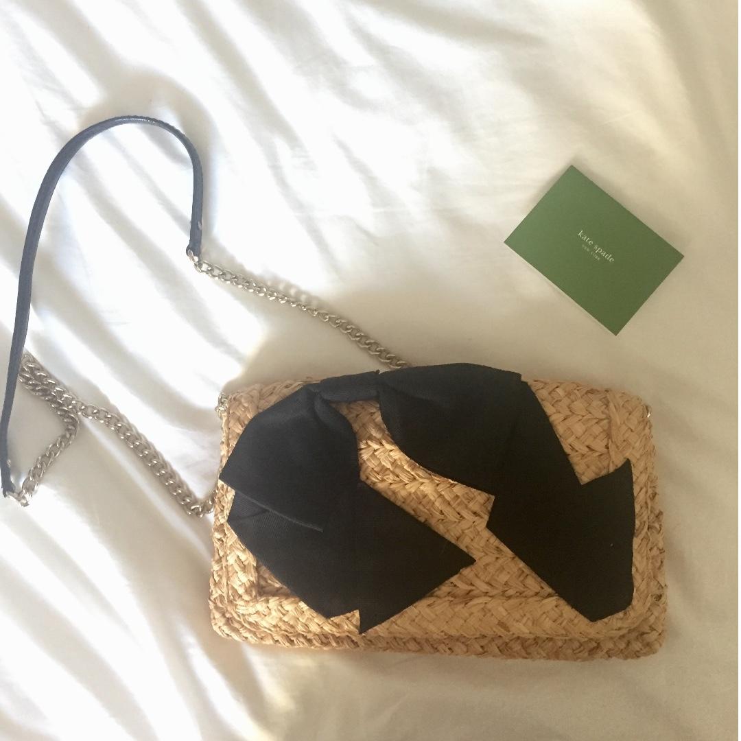 Kate Spade Straw Bag