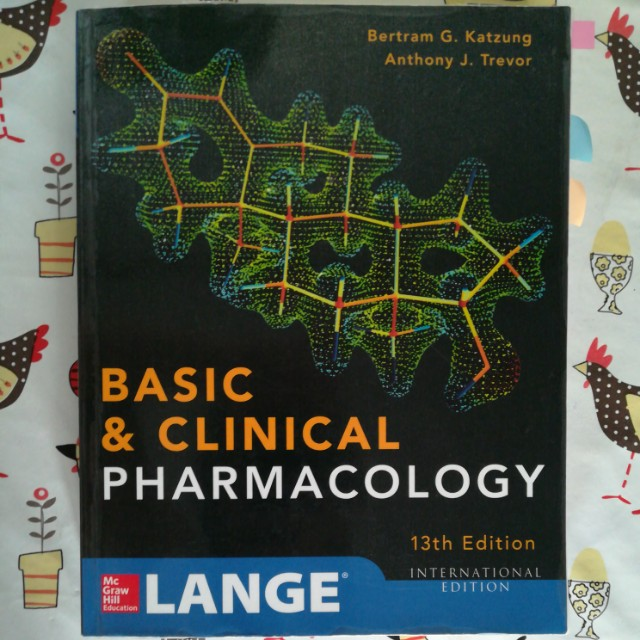 Katzung Basic & Clinical Pharma 13th Ed