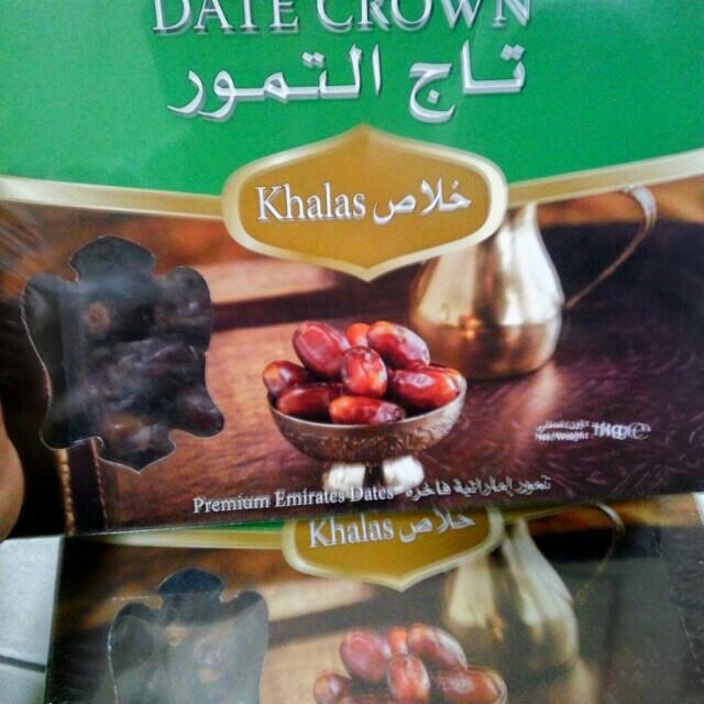 Kurma date corwn khalas