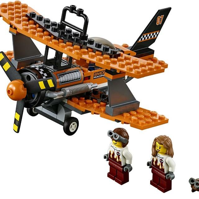 Lego city 60103 - Aerobic plane with 2 pilots minifigure, Toys ...