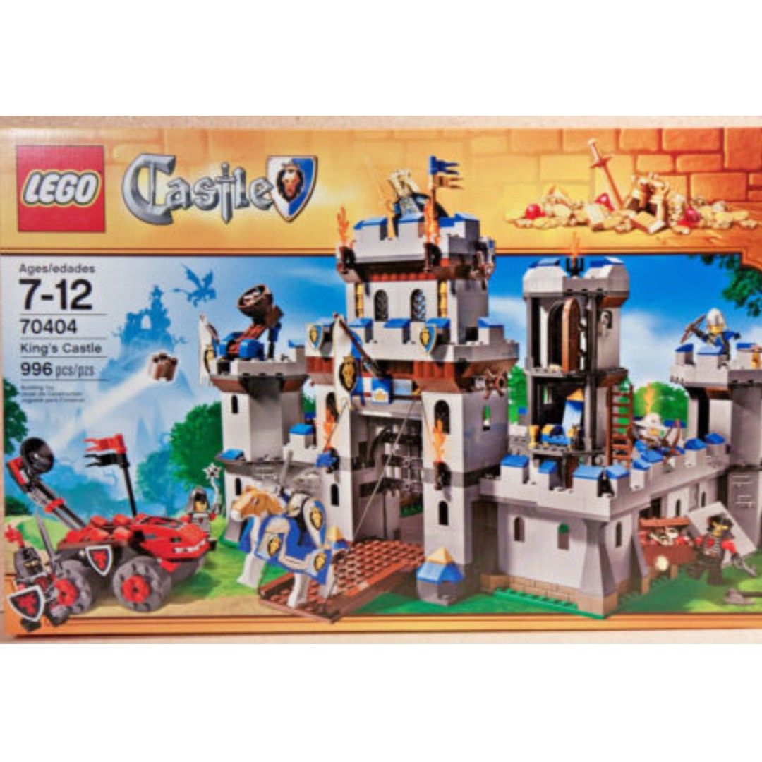 Lego Kings Castle Siege 70404 New Sealed Box Toys Games