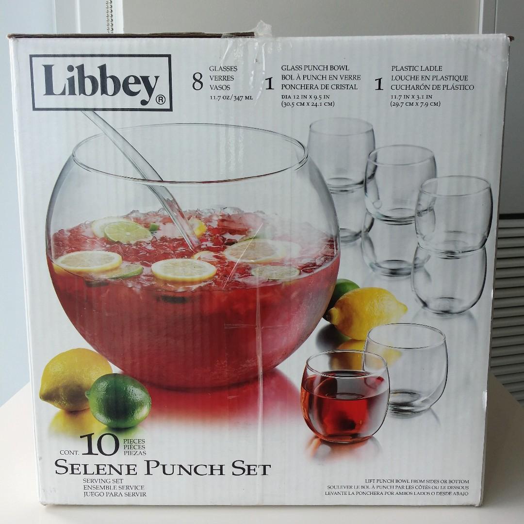 Libbey* Selene Punch Set