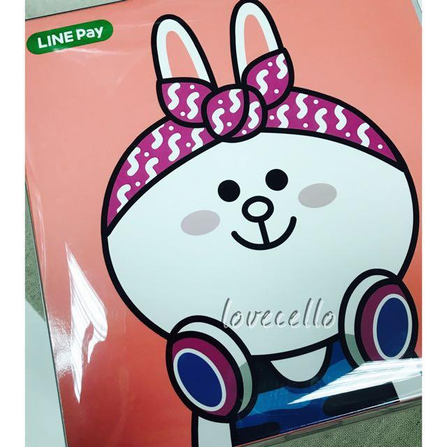 [全新]Line Friends 兔兔耳罩式耳機 #含運最划算