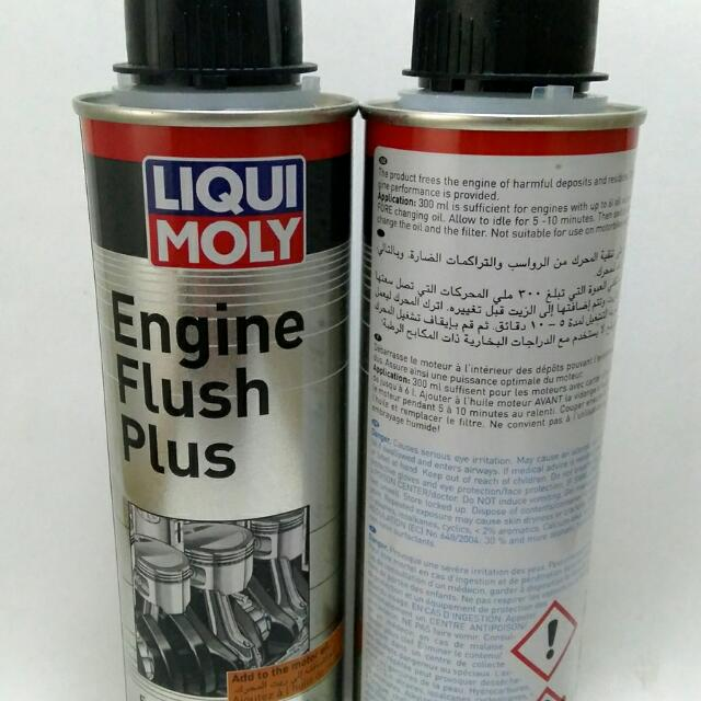 LIQUIMOLY ENGINE FLUSH PLUS MADE IN GERMANY