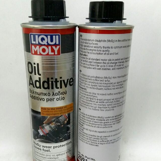 LIQUIMOLY OIL ADDITIVE MOS2 ORIGINAL MADE IN GERMANY